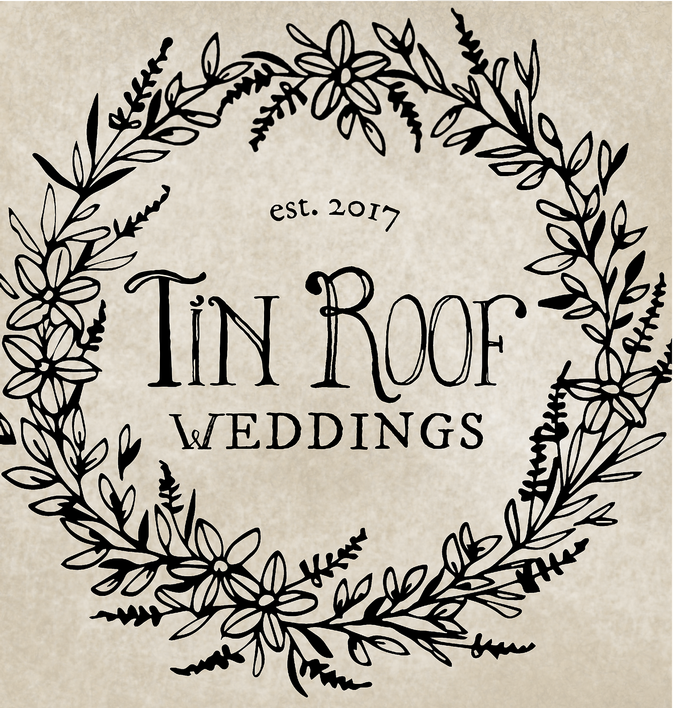 Tin Roof Weddings Logo